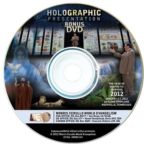 2012 World Conference 20-DVD Set & Hologram Presentation DVD