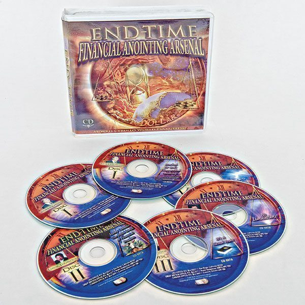 End-Time Financial Anointing Arsenal CD Set
