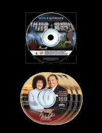 Morris Cerullo's Prophetic Messages 3-DVD set & Holograph Presentation DVD Promo