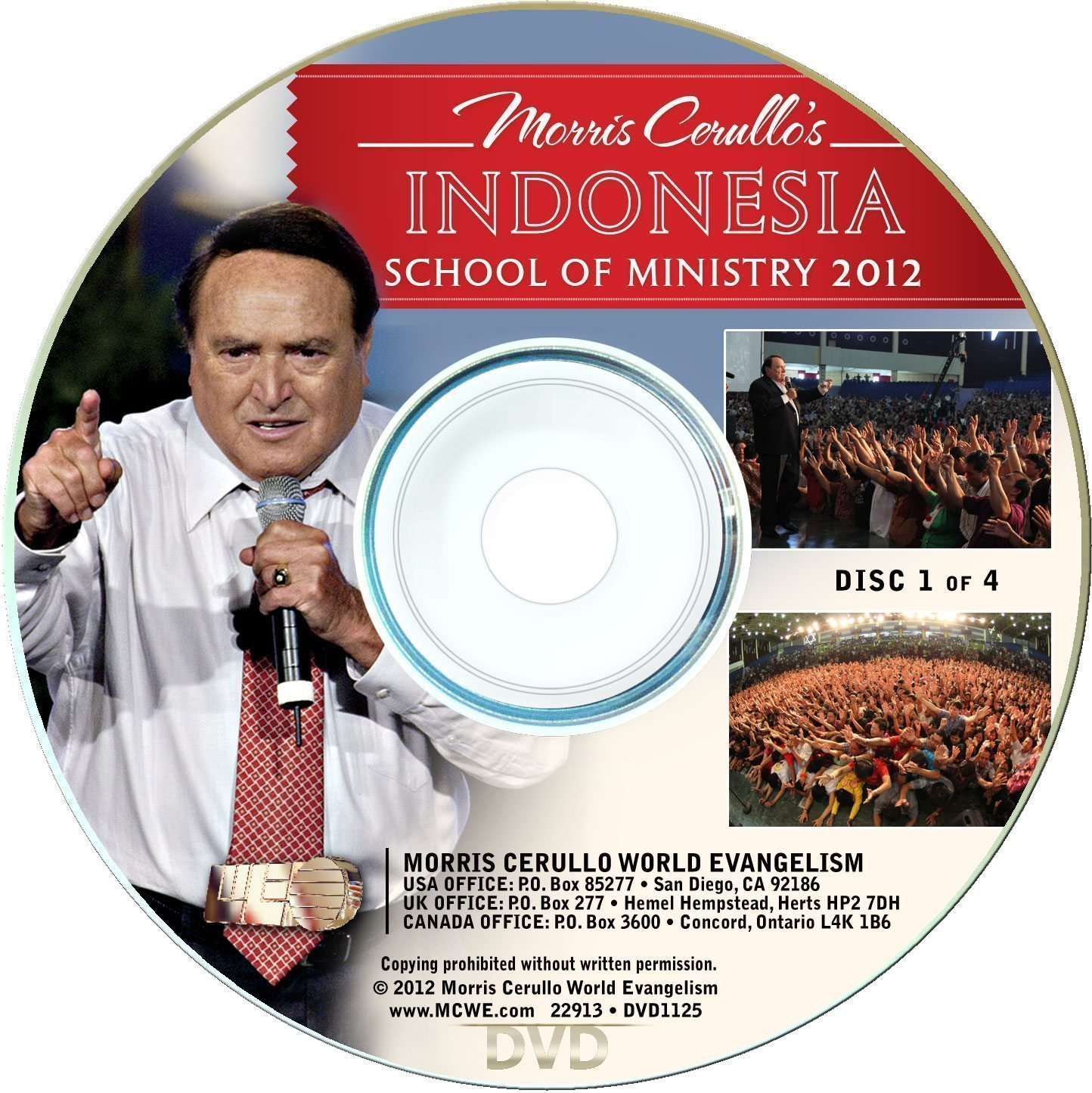 Indonesia School of Ministry 4-DVD Set