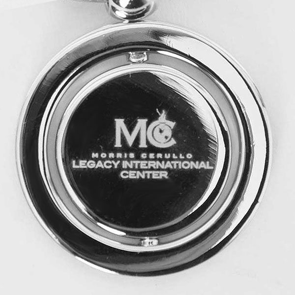 Silver Swivel Keychain
