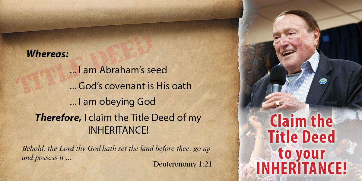 Claim the Title Deed to your inheritance!
