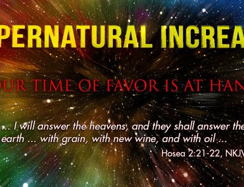 Supernatural Increase—God's Christmas Gift to You!